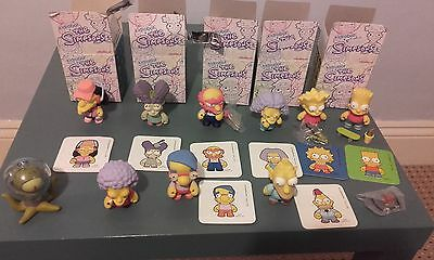 Kidrobot The Simpsons figure bundle / collection / lot