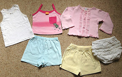 Small Bundle Baby Girls Clothes  Age 12-18 Months Ex Cond