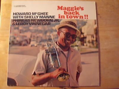 Howard McGhee Shelly Manne Maggie's back in town contemporary Jazz vinyl record