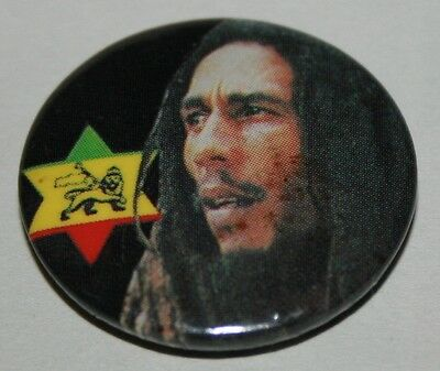 Bob Marley Badge Original UK 1980's Vintage Buy More Pay P&P For One