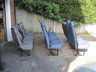 Minibus school bus removable seats Unwin Innotrax
