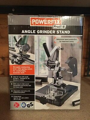 """Angle grinder cut-off stand takes 4"""", 4.1/2"""", 5"""" grinders, very high quality,new"""