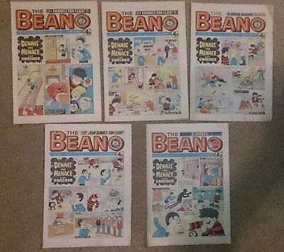 The Beano Comic No 1778-82 August-September 1976
