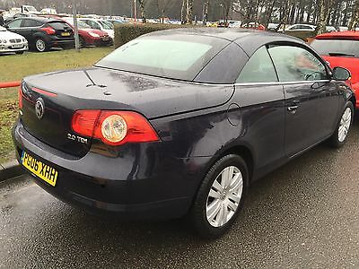 2006 Volkswagen Eos Tdi Alloys, Aircon, Electric Roof, Electric Windows,8Service