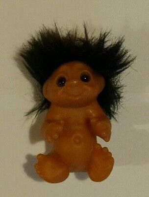 Dam Troll - Brown Hair 1985 Made in China