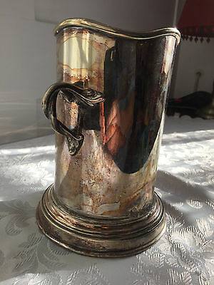 Martin, Hall & Co Hallmarked Tankard / Drinking Vessel ? Maybe repaired or built