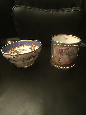 Beautiful 18th Century Sevres Teacup And One Other