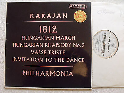 SAX 2302 blue/silver original Karajan conducts 1812 overture and other pieces