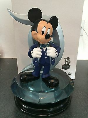 Disneyland 60th Anniversary Mickey Mouse D Icon Medium Big Fig Figure Statue