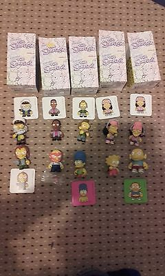 Kidrobot The Simpsons 10 figure bundle / collection / lot
