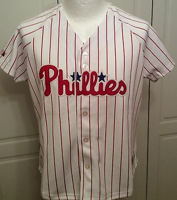 Majestic Athletic Philadelphia Phillies Kids MLB Shirt - XL
