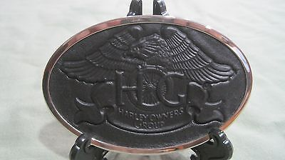 Harley Owners Group Belt Buckle