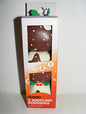 NEW Gizmo 3 Juggling Puddings Balls age 6+