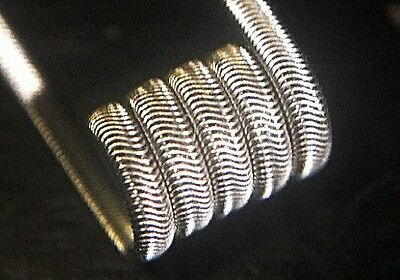 2 NICHROME Baby Alien coils w/ Free Coils (28/34g) (Clapton, Micro, Twisted)