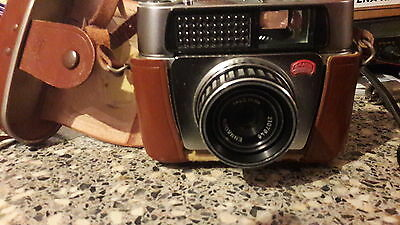 Braun Paxette Film Camera with Case.