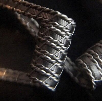 2 Nichrome 5 Wrap Baby Stapled Helix Coils w/ Free Coils (Staple, Alien Killer)