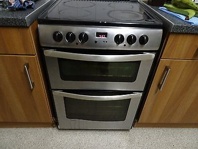 New World Ceramic Double Oven Cooker in Stainless Steel