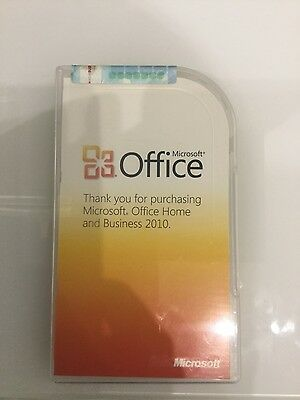 Genuine Microsoft Office 2010 Home and Business Product Key Card, Full Retail