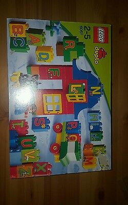lego duplo play with letters set 6051
