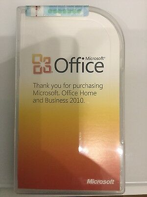 Microsoft Office 2010 Home and Business Product Key Card, Full Retail - Genuine
