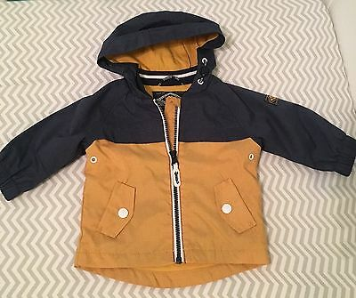 Baby Boys Hooded Next Jacket 3-6 Months