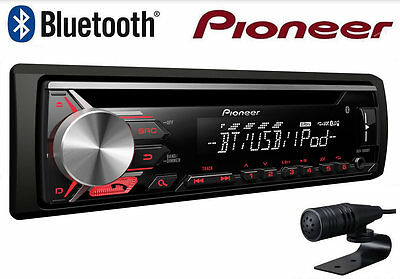 pioneer deh 80prs autoradio cd usb bluetooth allineamento temporale 2 rca out eur 319 00. Black Bedroom Furniture Sets. Home Design Ideas