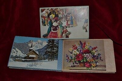 3 Vintage Chocolate Boxes - Christmas, Swiss Chalet & Flowers by G Rock