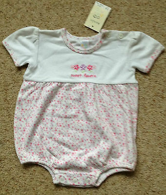 Baby Girls Pretty Playsuit From Baby Mac  Age 3-6 Months  Bnwt