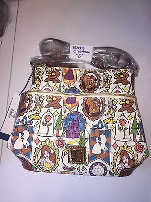 Disney Dooney and Bourke Beauty and the Beast Letter Carrier Bag In Hand NWT B