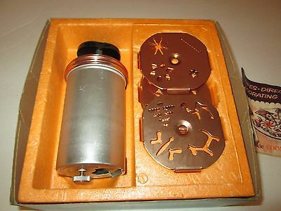 Mirro Dial-A-Cookie cookie press vintage - 12 different designs