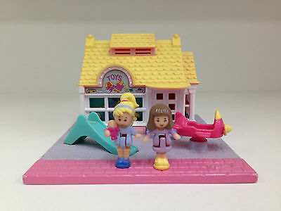 POLLY POCKET Vintage Bluebird 1993 Toy Shop **COMPLETE**