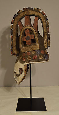 African Mask Igbo African Maiden Mask White Spirit Diety Purity Beauty
