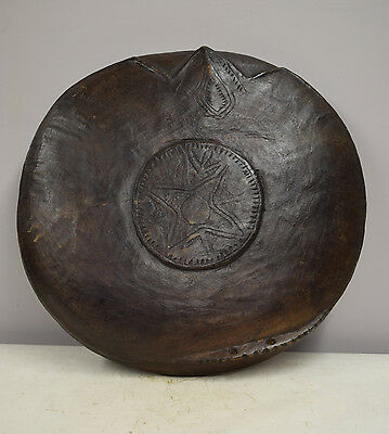 Papua New Guinea Sago Feasting Ceremonial Round Bowl Keram River