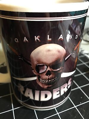 Custom Made Oakland Raiders V2 15oz Coffee Cup with your name.