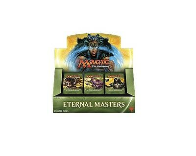 ETERNAL MASTERS Sealed MTG Booster Box- Brand New Unopened Magic The Gathering
