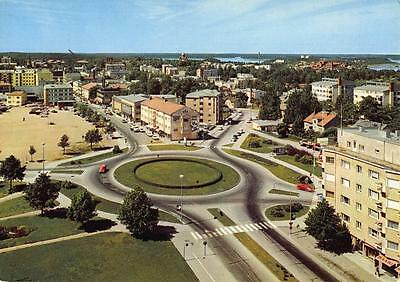Vintage c1970's Postcard LAPPEENRANTA Suomi FINLAND View from Water Tower