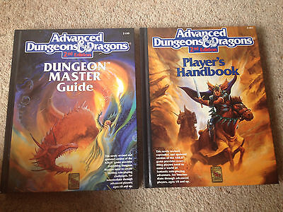 Advanced Dungeons and Dragons - Dungeon Master Guide & Player's Handbook