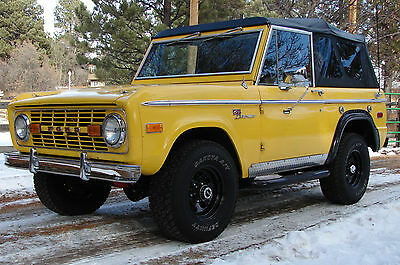 1972 Ford Bronco Sport 1972 Ford Bronco Sport, Colorado Bronco since new. $$ in upgrades, 3 tops.