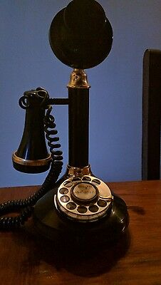 Candlestick Telephone made by American Telecommunications Corporation 1975.
