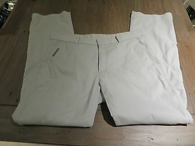 Nike Golf Tour Performance Dri-Fit White Trousers 36/32 - Excellent Condition
