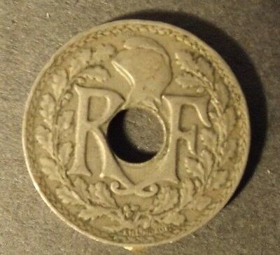 France 10 Centimes Coin Dated 1917.