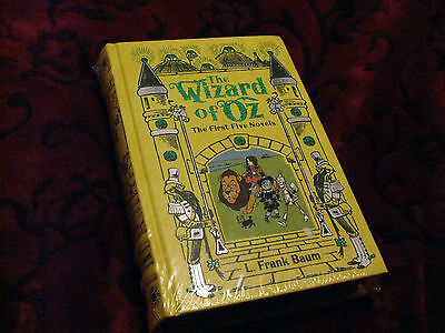 NEW and Sealed - The Wizard of Oz -  Hardcover - First 5 Novels
