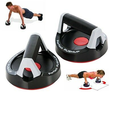 Perfect Pushup Push Up Bars Handles Stands Equipment Exercise Workout Training 2