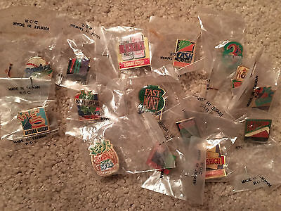 Arizona State Lottery Pins sealed in package Vintage 1990s