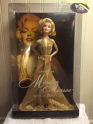 Barbie As Marilyn Monroe Blonde Ambition Doll Pink Label New NRFB