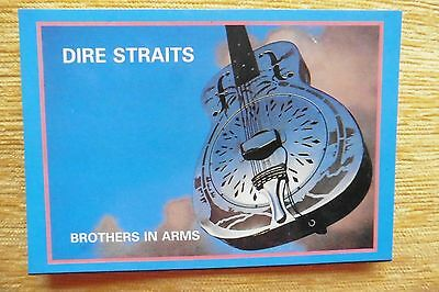 Dire Straits Brothers in arms vintage postcard