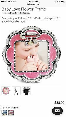 brighton Baby Love Flower Frame Pink Baby Girl Gift Brand New