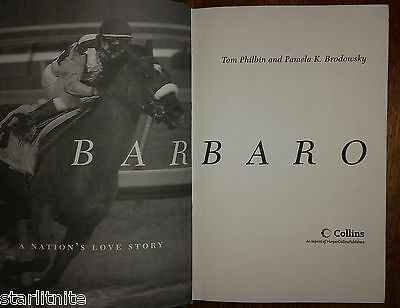 1st Edition Book: Barbaro ~True Story of a Famous Race Horse  HC