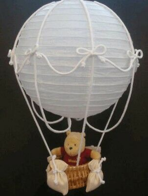 Hot-Air Balloon Lampshade / Mobile For Baby's Nursery Winnie The Pooh