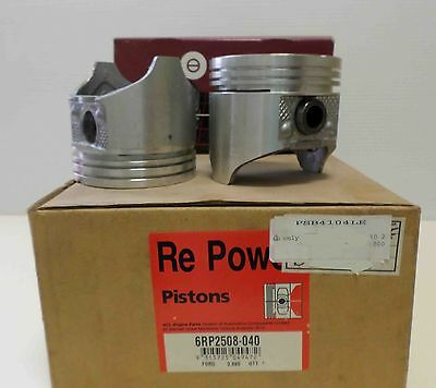 ACL pistons & rings PSB2508 PSBY4101-030 suit Falcon 250 pre & Xflow 4 only